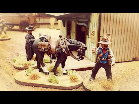 Old west gaming in the club